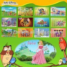 2012 wall adhesive calendar