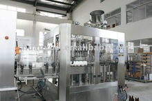 Glass bottle beer filling machine (BGF18-18-6)