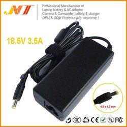 For HP 18.5V 3.5A AC Adapter 463958-001 DV5 DV6 DV7 65W