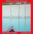Adhesivo de metal& ganchos del techo