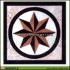 decorative marble medallions