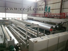 Geomembrane extrusion technology