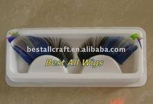 colorful false eyelashes
