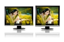 "Stock 15""lcd tv flat black pc monitor"