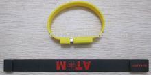 silicone USB bracelet