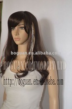 America good sale rooster saddle feathers wholesales hair extensions