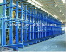 Selective cantilever shelves