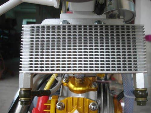 Масляный радиатор своими руками на мото