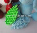 colorido de calidad de goma para perros ducharse kd0109011 cepillos