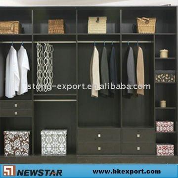 Dormitorio de madera maciza armario armario - Armarios de madera maciza ...