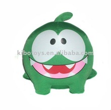 cut the rope/Om Nom/ the adorable monster,stuffed toy