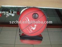 Basketball round mini speaker bag