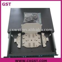 Telecommunication Optical Fiber patch panel 24 cores