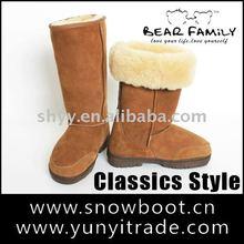2011 new women's snow boots Sheepskin fashion boot