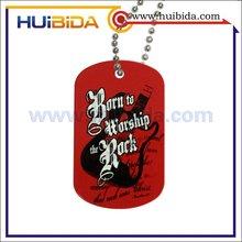 cartoon metal dog tag
