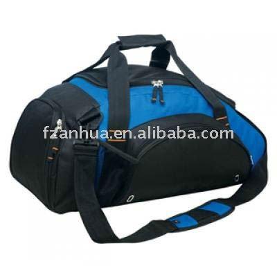 Function Blue Polyester Travel Bag