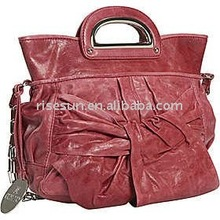 leather hot sale lady fashion handbag