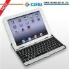 lattest unique design Aluminum smart bluetooth wireless Keyboard Case for iPad 2