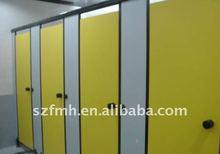 Fireproof hpl compact toilet cabinet door 36