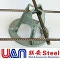 Carga pesada cadeira rebar espaçadores& engranzamento de fio soldado cadeiras de apoio