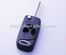 Toyota 2007 style Camry 3 buttons flip remote key blank