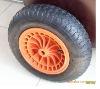 Pneumatic Wheel barrow tyre and tube350-8