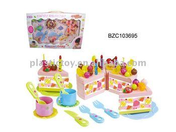 Baby plastic cake toy decoration BZC103695