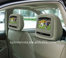 """7""""tft color lcd auto car audio multimedia speaker system in pillow"""