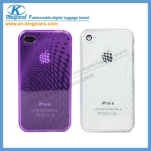 Kingsons Brand Colorful Case for iPhone 4