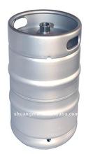 stainless steel beer keg