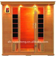 far infrared dry sauna house