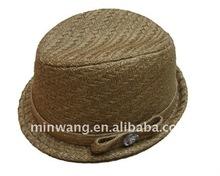 Sinamay hat/fedora hat/fashion hat and cap