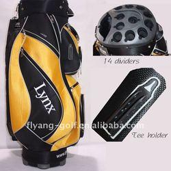Deluxe 14 dividers light weight nylon golf bag