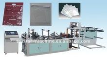 Full automatic Environment friendlyNon woven zipper bag Making machinery(600mm)
