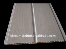 wall pvc panel middle groove in