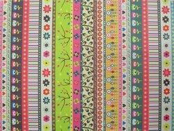 Colorful floral wrap paper