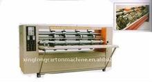 ISO9001:2000 corrugated carton thin blade slitting creasing machine