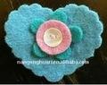 estimé coeur décoration de noël faits à la main