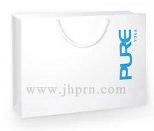 white paper bag light