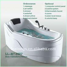 Floor stand ABS massage shower SPA whirlpool bathtub