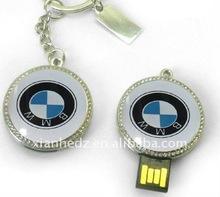 Glue logo high quality with whole warranty jewelry USB