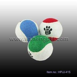 pet tennis ball