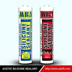 waterproof construction aluminum alloy door and windown Acetic silicone sealant