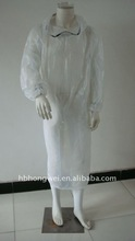 white doctor/nurse/isolation clothes