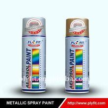 super hyper Metallic:gold/chrome/silver spray paint