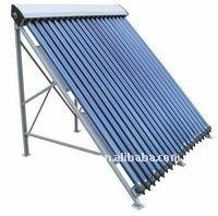 Swimming pool manifold vaccum tube solar collector