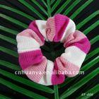 simple pretty crochet headband material
