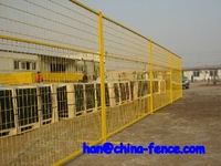 security protection temporary fence