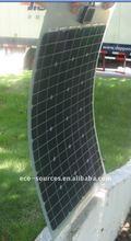 50w camping semi-flexible solar panel