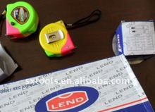 land style 3m multicolor case steel measuring tape